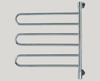 Amba Jill 25x29 Swivel Towel Warmer - eclectic - Towel Bars And Hooks - Miami - Click Shop and Run, Inc