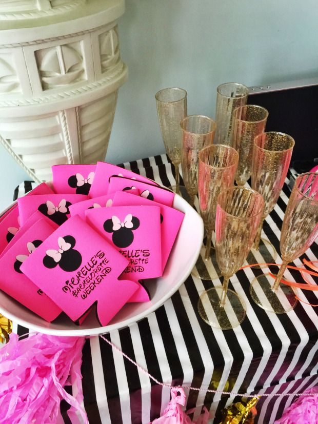 Bachelorette party favors! Disney edition!                                                                                                                                                                                 More