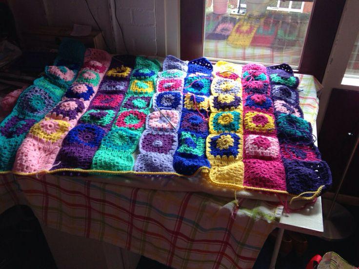 WIP: granny blanket