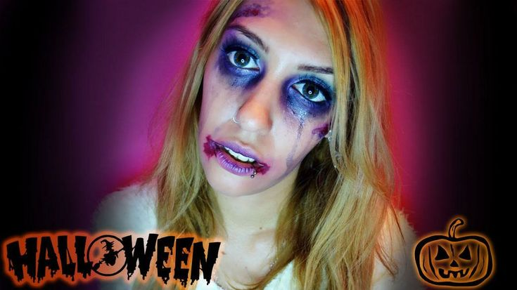 Maquillaje de cenicienta zombie para Halloween, ¡no os lo perdáis!