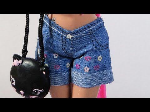 Macacão para Barbie DIY (costura ou cola) - YouTube