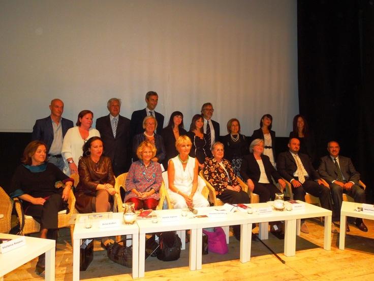 Cerimonia di premiazione del Premio Casato Prime Donne - Montalcino, 15 settembre 2012