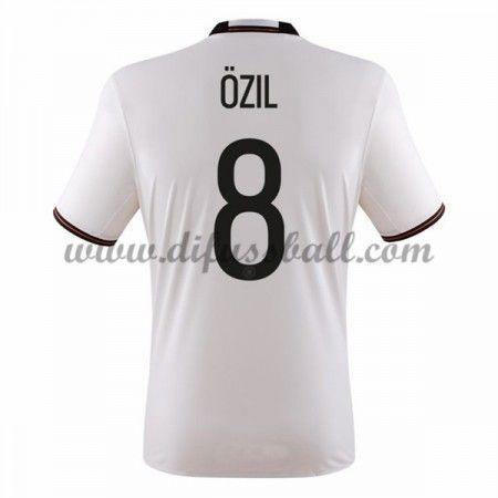 Nationaltrikot Deutschland 2016 Ozil 8 Kurzarm Heim Fußballtrikots