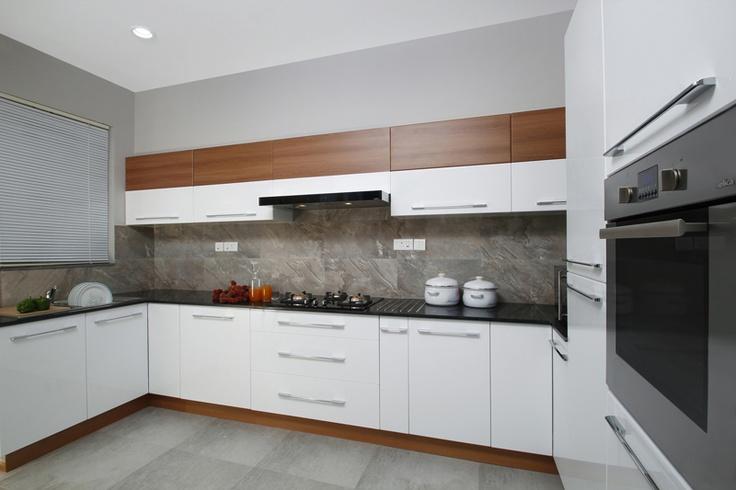 Kitchen U-Shape - Skyline Ivy League    SAVIO and RUPA Interior Concepts Bangalore | professional apartment interior designers Bangalore | Modern villa Interior Designers | Residential Interior Designs