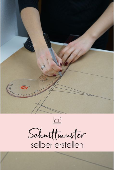 Learn to make a basic cut for a skirt in my online sewing course …   – Nähen