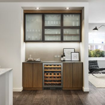 A Wine Bar Should Be Functional And Stylish. Let California Closets Design  Customized Storage In A Variety Of Finishes For Your Wine Bar Area.