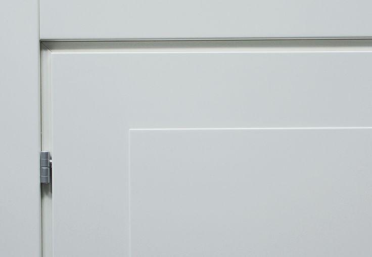 FBP porte   Collezione MADI' Dettaglio telaio interno con anuba #fbp #porte #legno #door #wood #varnished #woodcut