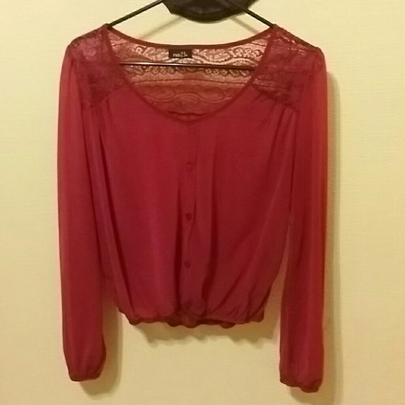 Rue 21 Top Rue 21 Top 100 % Polyester Rue 21 Tops Blouses