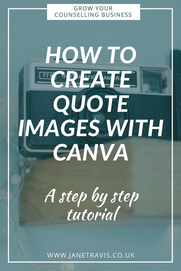 mental health counselor resume%0A How to create beautiful quote images on Canva to increase engagement and  shares on social media