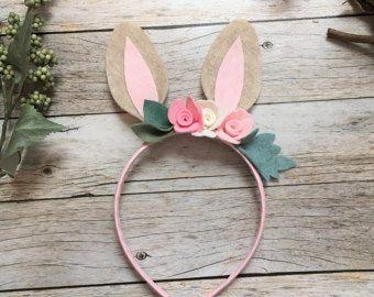 Bunny Ears Headband Bunny Costume Bunny Headband  Baby
