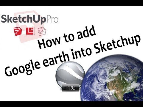 (55) How to get high resolution satellite imagery in Sketchup - YouTube