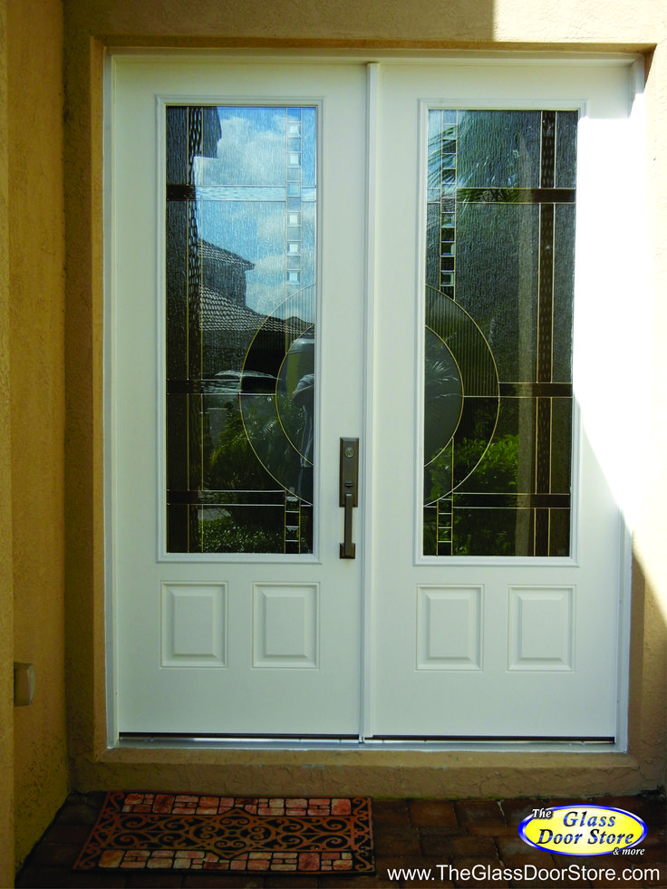 77 best glass inserts for fiberglass doors images on - Steel vs fiberglass exterior door ...