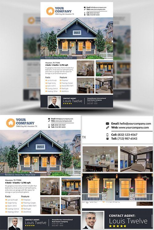 Flyer Template Real Estate v3                                                                                                                                                                                 More