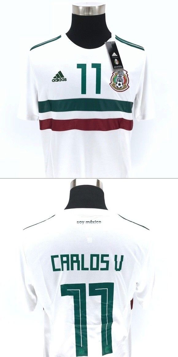 d8b9d96c7 Clothing 33485  Mexico Away White Soccer Jersey Carlos Vela  11 -  BUY IT  NOW ONLY   30 on  eBay  clothing  mexico  white  soccer  jersey  carlos