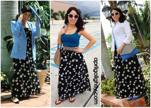 Polka Dots Go from Spring to Fall by April Golightly