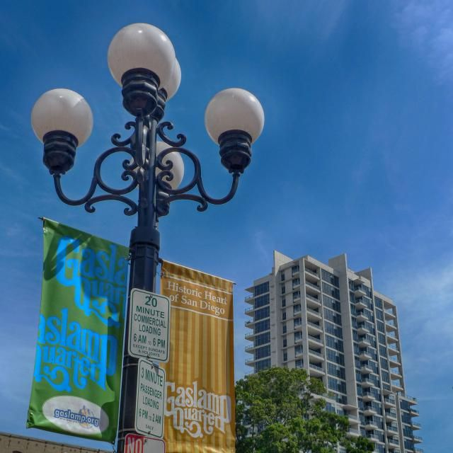 Visitor guide to San Diego's Gaslamp District includes what's there, when to go and how to get there