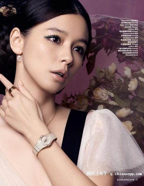 "#VivianHsu #徐若萱 #HarpersBazaarJewellery #芭莎珠宝 #China (February 2010) ""情系""珍珠"