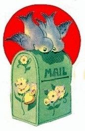 bluebird mailbox