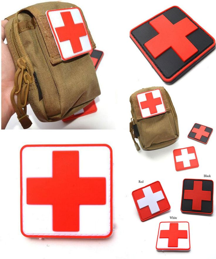 [Visit to Buy] Outdoor Products PVC Stickers Armband The Medical Rescue Of The Red Cross Chapter Morale Military Stickers Badges #Advertisement