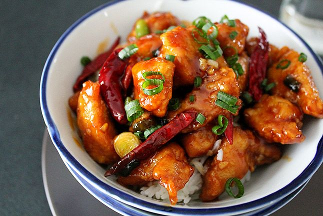General Tso's Chicken...won't be making this again. Sauce was way too sweet...Dayna