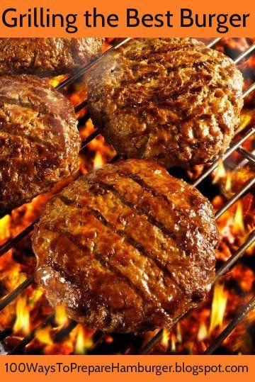 Best Burger Grilling Tips - Get the Best Burger Grilling Tips and Moist, Juicy Burger Recipes Today! http://100waystopreparehamburger.blogspot.ca/