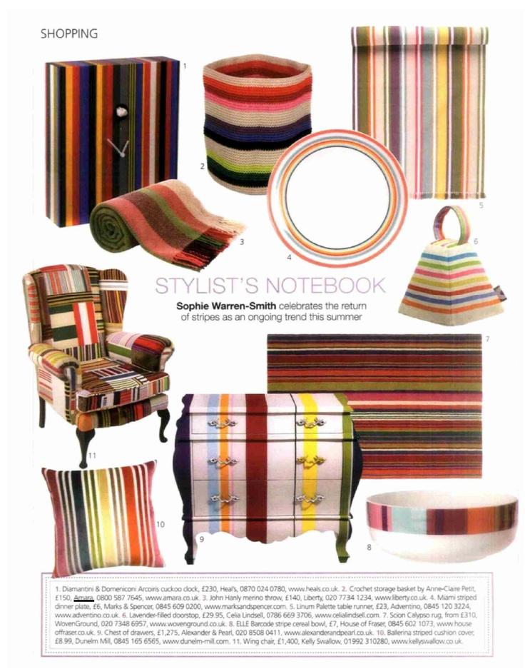 Amara's crochet storage basket in Period Homes & Interiors