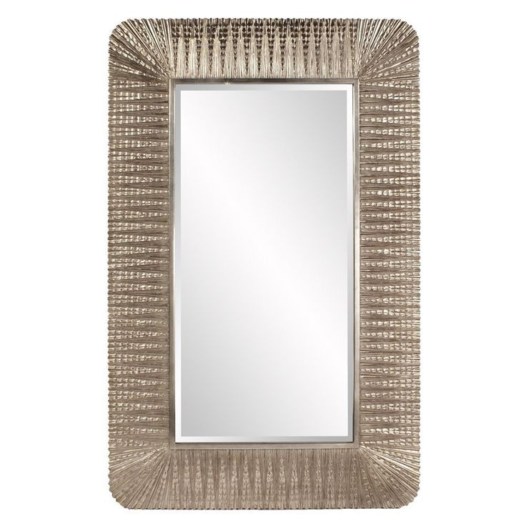Oversize Gold Ornate 7 Foot Mirror | Diamond One Decor