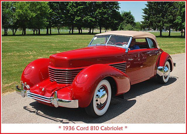 1936 Cord 810 by sjb4photos, via Flickr MY FAMILY CAR <3<3<3