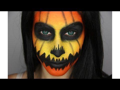 Trucco viso da zucca per Halloween - VideoTrucco