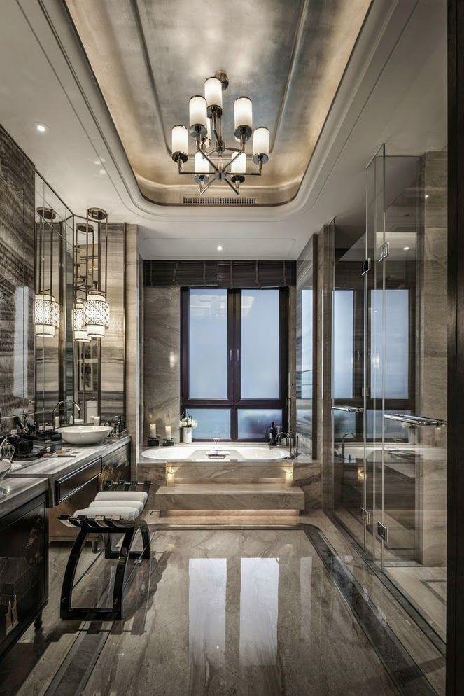 Pin By Billionaire Mob Queen On Archi Bathroom Design Luxury Modern Master Bathroom Master Bathroom Design