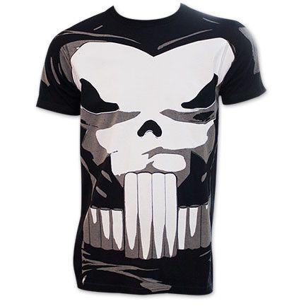 The Punisher Comic Book Superhero Halloween Costume T-Shirt