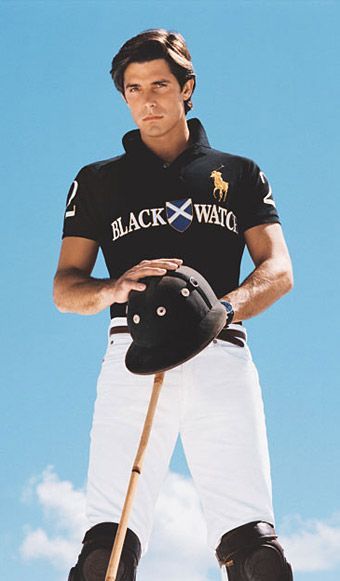 Nacho Figueras....Who knew Polo could be so interesting?!?