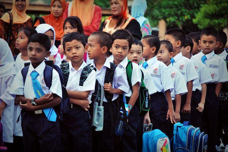 Persediaan Anak Ke Sekolah Darjah Satu