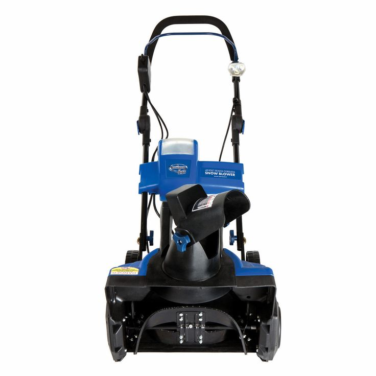 Snow Joe iON18SB 40-Volt Cordless 18-Inch Single Stage Brushless Snow Blower