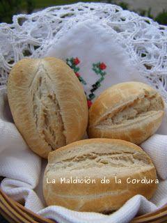 La Maldición de la Cordura: Practicando con la harina de mandioca. ¡Panecillos de pan, pan! - Recetas sin gluten y sin lácteos