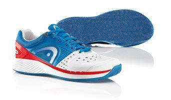 HEAD Sprint Pro Clay Men Blue/White http://www.headstore.cz/Tenisova-obuv/Panska-obuv/HEAD-Sprint-Pro-Clay-Men-Blue-White
