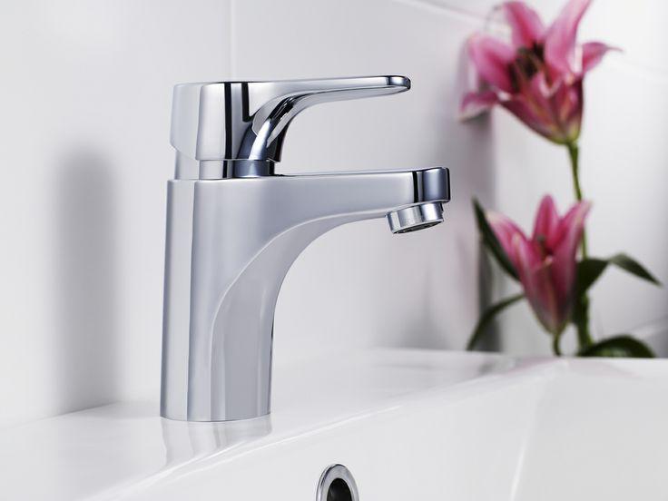 Tvättställsblandare från Nautic har flera smarta funktioner. Den är både säker vattenbesparande och miljövänliga. | GUSTAVSBERG
