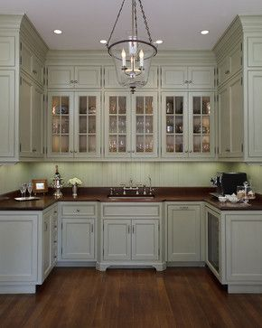 Georgian Revival - Butler's Pantry - traditional - spaces - san francisco - EJ Interior Design, Eugenia Jesberg