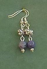 Denim Blue Butterfly Earrings £5.99
