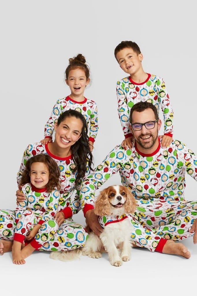 Target Is Selling Matching Holiday Pajamas For the Entire