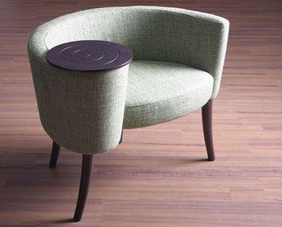 Mid century telephone chair