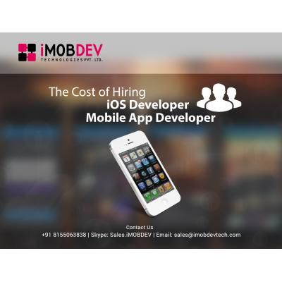 The Cost Of Hiring An iOS Developer - Mobile App Developer http://montgomery.anunico.us/