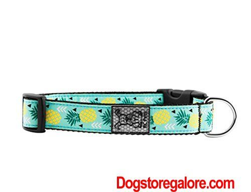 Rc Pet Products 1 Adjustable Dog Clip Collar Large Pineapple Parade Adjustable Clip Collar Dog Dog Collars Large Large Parad Dog Clip Dog Collar Pets