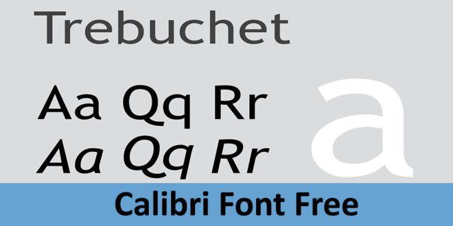 Calibri Font Free Download