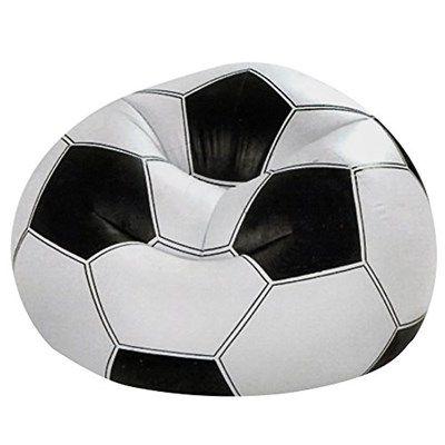 Chollo en Amazon España: Sillón hinchable balón de fútbol Intex por solo 13,95€ (un 29% de descuento sobre el precio de venta recomendado)