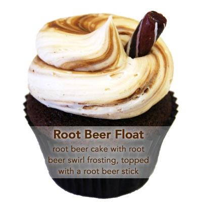 Root Beer Float Cupcake | GOODIES | Pinterest