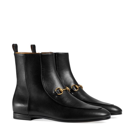 29a7af3304f Gucci Jordaan leather ankle boot