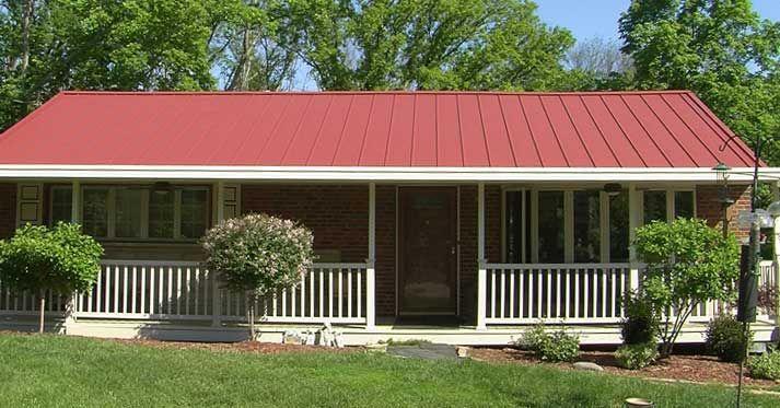 Metal Roof Dayton Ohio In 2020 Metal Roof Residential Metal Roofing Modern Builders Supply