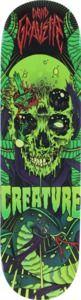 "Creature David Gravette The Serpent Skateboard Deck Limited Edition - 8.2"" x 31.9"""