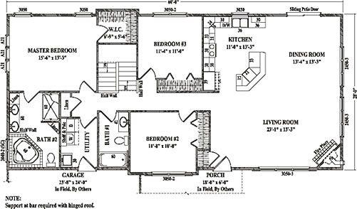DREAM HOUSE!! Sterling I by Wardcraft Homes Ranch Floorplan